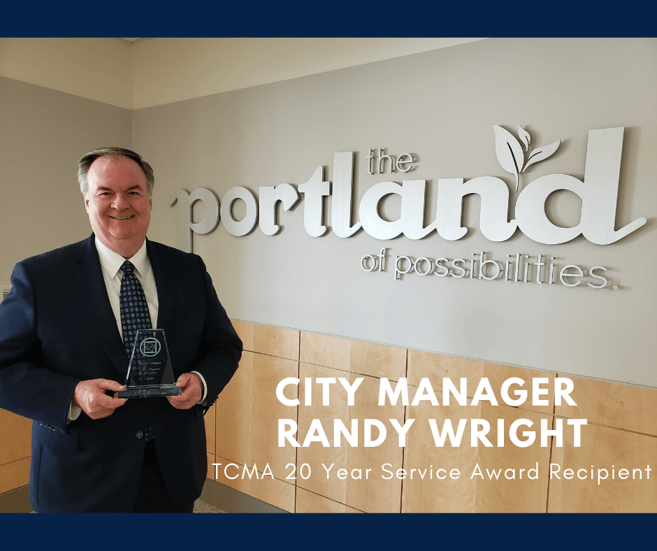 Congratulations, City Managr Randy Wright