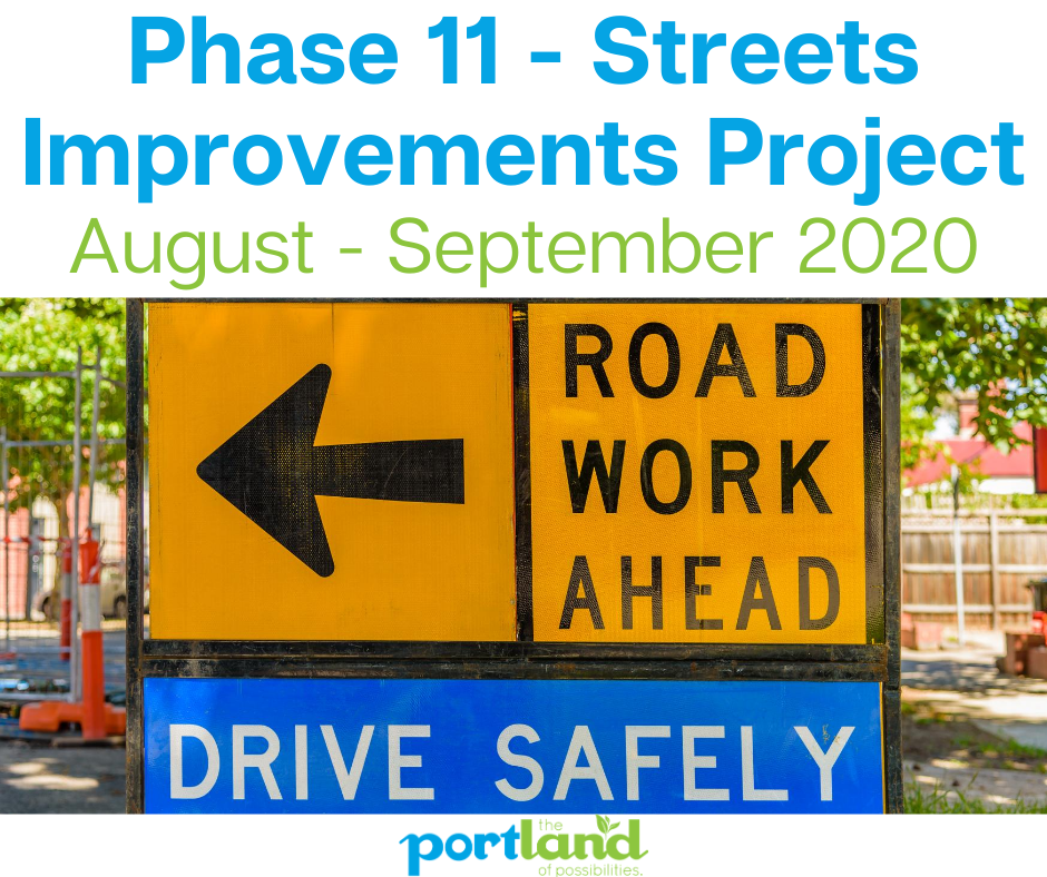 Phase 11 - Streets Improvements Project